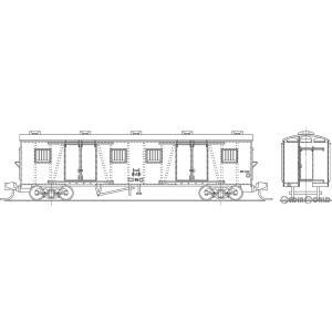 『予約安心発送』{RWM}国鉄 ワキ1000形 有蓋車 タイプA(4枚窓) 組立キット Nゲージ 鉄道模型 ワールド工芸(2021年2月以降)|mediaworld-plus