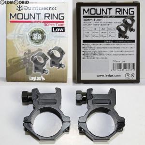 『新品即納』{MIL}LayLax(ライラクス) Quintes sence(クインテスセンス) Mount ring(マウントリング) 2個セット 30mm LOW(20160831)|mediaworld-plus