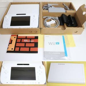 『中古即納』{訳あり}{本体}{WiiU}Wii U スーパーマリオメーカー セット(shiro/シロ/白)(WUP-S-WAHA)(20150910)