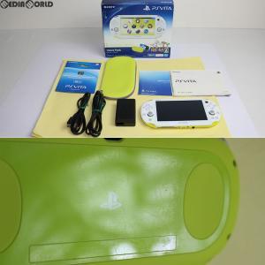 『中古即納』{訳あり}{本体}{PSVita}PlayStation Vita Value Pack Wi-Fiモデル ライムグリーン/ホワイト(PCHJ-10014)(20131205)|mediaworld-plus