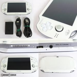 『中古即納』{訳あり}{本体}{PSVita}PlayStationVita Wi-Fiモデル クリスタル・ホワイト(PCH-1000ZA02)(20120628)|mediaworld-plus