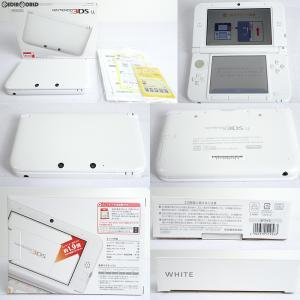 『中古即納』{訳あり}{本体}{3DS}ニンテンドー3DS LL ホワイト(SPR-S-WAAA)(20120728)