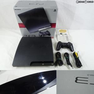 『中古即納』{訳あり}{本体}{PS3}プレイステーション3 PlayStation3 HDD250GB チャコール・ブラック(CECH-2000B)(20100218)|mediaworld-plus