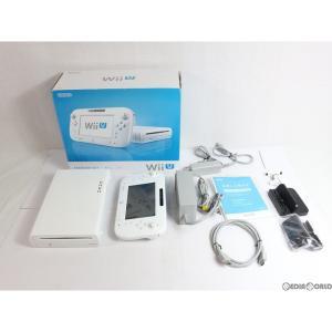 『中古即納』{訳あり}{本体}{WiiU}Wii U プレミアムセット PREMIUM SET shiro/シロ/白(本体メモリー32GB)(WUP-S-WAFC)(20130713)|mediaworld-plus