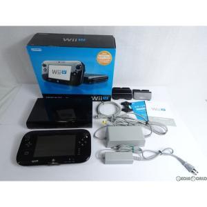 『中古即納』{訳あり}{本体}{WiiU}Wii U プレミアムセット 黒 PREMIUM SET kuro(本体メモリー32GB)(WUP-S-KAFC)(20121208)|mediaworld-plus