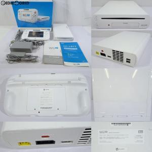 『中古即納』{訳あり}{本体}{WiiU}Wii U ベーシックセット 白 BASIC SET Shiro/シロ (本体メモリー8GB)(WUP-S-WAAA)(20121208)|mediaworld-plus