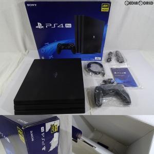 『中古即納』{訳あり}{本体}{PS4}プレイステーション4 プロ PlayStation4 Pro ジェット・ブラック 2TB(CUH-7200CB01)(20181121)|mediaworld-plus