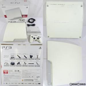 『中古即納』{訳あり}{本体}{PS3}プレイステーション3 PlayStation3 HDD160GB クラシック・ホワイト(CECH-3000ALW)(20110908)|mediaworld-plus