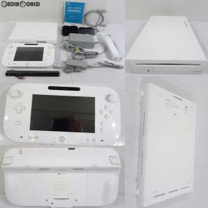 『中古即納』{訳あり}{本体}{WiiU}Wii U すぐに遊べるスポーツプレミアムセット(シロ/shiro/白)(WUP-S-WAFU)(20140327)|mediaworld-plus