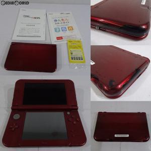 『中古即納』{訳あり}{本体}{3DS}Newニンテンドー3DS LL メタリックレッド(RED-S-RAAA)(20150827)|mediaworld-plus