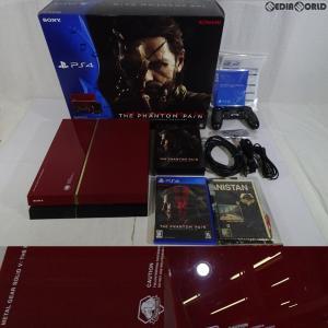 『中古即納』{訳あり}{本体}{PS4}PlayStation(R)4 METAL GEAR SOLID V LIMITED PACK THE PHANTOM PAIN EDITION(CUHJ-10009)(20150902)|mediaworld-plus