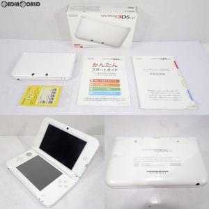 『中古即納』{訳あり}{本体}{3DS}ニンテンドー3DS LL ホワイト(SPR-S-WAAA)(20120728)|mediaworld-plus