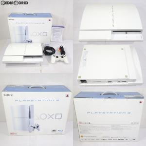 『中古即納』{訳あり}{本体}{PS3}PLAYSTATION 3 プレイステーション3 80GB セラミック・ホワイト(CECH-L00CW)(20081130)|mediaworld-plus