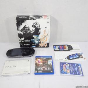 『中古即納』{訳あり}{本体}{PSVita}PlayStation Vita 討鬼伝 鬼柄(おにがら) Wi-Fiモデル(PCHJ-10008)(20130627)|mediaworld-plus