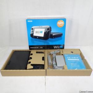 『中古即納』{訳あり}{本体}{WiiU}Wii U プレミアムセット 黒 PREMIUM SET kuro/クロ(本体メモリー32GB)(WUP-S-KAFC)(20121208)|mediaworld-plus