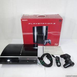 『中古即納』{訳あり}{本体}{PS3}PLAYSTATION 3 プレイステーション3 HDD40GB クリアブラック(CECH-H00)(20071111)|mediaworld-plus