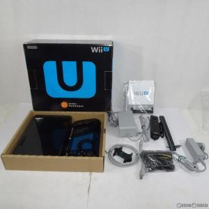 『中古即納』{訳あり}{本体}{WiiU}Wii U すぐに遊べるファミリープレミアムセット(kuro/クロ/黒)(WUP-S-KAFS)(20131031)|mediaworld-plus