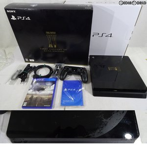 『中古即納』{訳あり}{本体}{PS4}PlayStation4 FINAL FANTASY XV LUNA EDITION(プレイステーション4 ファイナルファンタジー15 ルーナエディション)(CUHJ-10013)|mediaworld-plus