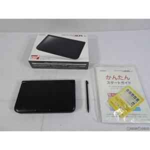 『中古即納』{訳あり}{本体}{3DS}ニンテンドー3DS LL ブラック(SPR-S-KKAA)(20121101)|mediaworld-plus
