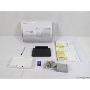 『中古即納』{訳あり}{本体}{3DS}ニンテンドー3DS アイスホワイト(CTR-S-WAAA)(20111103)|mediaworld-plus