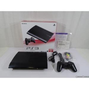 『中古即納』{訳あり}{本体}{PS3}PlayStation3 プレイステーション3 HDD250GB チャコール・ブラック(CECH-4000B)(20121004)|mediaworld-plus