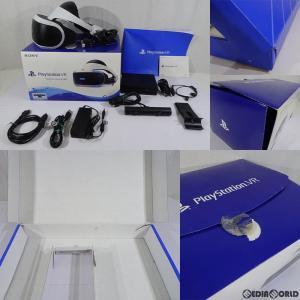 『中古即納』{ACC}{訳あり}{PS4}PlayStation VR PlayStation Camera同梱版(プレイステーションVR/PSVR カメラ同梱版) SIE(CUHJ-16003)(20171014)|mediaworld-plus