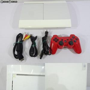 『中古即納』{訳あり}{本体}{PS3}PlayStation3 プレイステーション3 HDD250GB クラシック・ホワイト(CECH-4000BLW)(20121122)|mediaworld-plus
