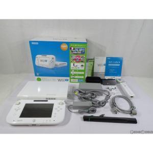 『中古即納』{訳あり}{本体}{WiiU}Wii U すぐに遊べるファミリープレミアムセット+Wii Fit U(シロ/shiro/白)(WUP-S-WAFT)(20131031)|mediaworld-plus