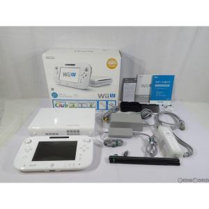 『中古即納』{訳あり}{本体}{WiiU}Wii U すぐに遊べるスポーツプレミアムセット(shiro/シロ/白)(WUP-S-WAFU)(20140327)|mediaworld-plus