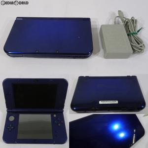 『中古即納』{訳あり}{本体}{3DS}Newニンテンドー3DS LL メタリックブルー(RED-S-BAAA)(20141011)|mediaworld-plus