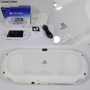『中古即納』{訳あり}{本体}{PSVita}PlayStationVita Wi-Fiモデル ホワイト(PCH-2000ZA12)(20131010)|mediaworld-plus