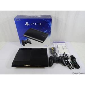 『中古即納』{訳あり}{本体}{PS3}プレイステーション3 PlayStation3 HDD500GB チャコール・ブラック(CECH-4300C)(20140828)|mediaworld-plus