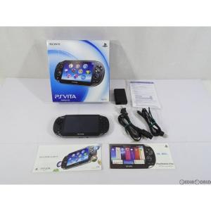 『中古即納』{訳あり}{本体}{PSVita}PlayStation Vita Wi-Fiモデル クリスタル・ブラック(PCH-1000ZA01)(20111217)|mediaworld-plus