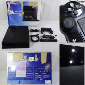 『中古即納』{訳あり}{本体}{PS4}プレイステーション4 PlayStation4 PlayStation Camera(カメラ) 同梱版(CUH-1000AA01)(20140424)|mediaworld-plus