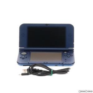 『中古即納』{訳あり}{本体}{3DS}Newニンテンドー3DS LL メタリックブルー(RED-S-BAAA)(20141011) mediaworld-plus