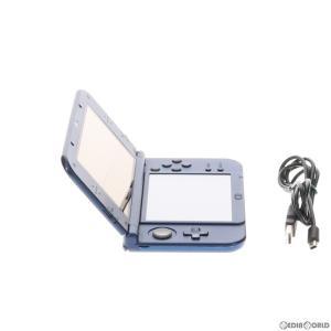 『中古即納』{訳あり}{本体}{3DS}Newニンテンドー3DS LL メタリックブルー(RED-S-BAAA)(20141011) mediaworld-plus 04