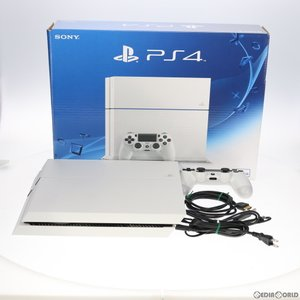『中古即納』{訳あり}{本体}{PS4}プレイステーション4 PlayStation4 HDD500GB グレイシャー・ホワイト(CUH-1200AB02)(20150627) mediaworld-plus