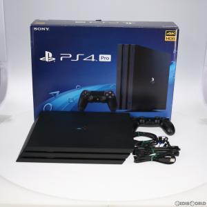 『中古即納』{訳あり}{本体}{PS4}プレイステーション4 プロ PlayStation4 Pro ジェット・ブラック 1TB(CUH-7100BB01)(20171002) mediaworld-plus