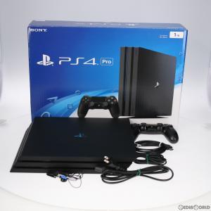 『中古即納』{訳あり}{本体}{PS4}プレイステーション4 プロ PlayStation4 Pro 1TB ジェット・ブラック(CUH-7000BB01)(20161110) mediaworld-plus