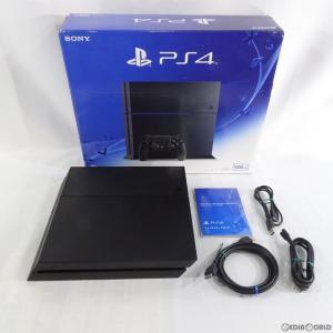 『中古即納』{訳あり}{本体}{PS4}プレイステーション4 PlayStation4 HDD500GB ジェット・ブラック(CUH-1200AB01)(20150627)|mediaworld-plus