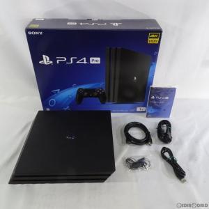 『中古即納』{訳あり}{本体}{PS4}プレイステーション4 プロ PlayStation4 Pro ジェット・ブラック 1TB(CUH-7100BB01)(20171002)|mediaworld-plus