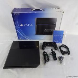 『中古即納』{訳あり}{本体}{PS4}プレイステーション4 PlayStation4 HDD500GB ジェット・ブラック(CUH-1100AB01)(2014年9月下旬)|mediaworld-plus