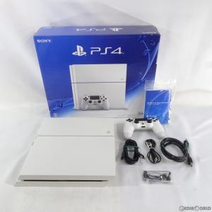 『中古即納』{訳あり}{本体}{PS4}プレイステーション4 PlayStation4 HDD500GB グレイシャー・ホワイト(CUH-1200AB02)(20150627)|mediaworld-plus