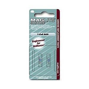 【マグライト】MINI MAG−LITE(ミニマグライト) ソリテール用 替球(2個入) LK3A001 ☆家電 ※お取り寄せ商品|medistock