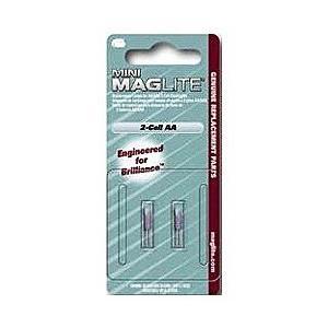 【マグライト】MINI MAG−LITE(ミニマグライト) 2AA用 替球(2個入) LM2A001 ☆家電 ※お取り寄せ商品|medistock