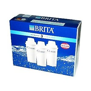【ブリタ】クラシック交換カートリッジ 3個入◆お取り寄せ商品 medistock