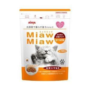 【アイシア】MiawMiaw(ミャウミャウ)カリカリ小粒タイプ かつお味 580g ※お取り寄せ商品|medistock