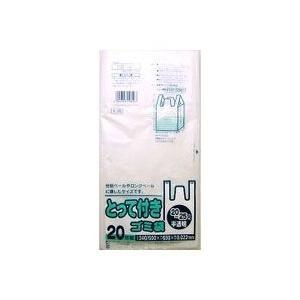 【日本サニパック】とって付きゴミ袋 20−25L 半透明 20枚入 Y−29 ◆お取り寄せ商品|medistock