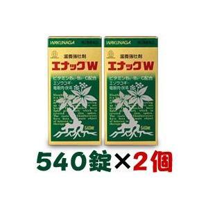 【第3類医薬品】【湧永製薬】エナックW 540錠×2個セット|medistock