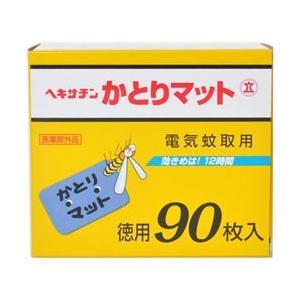 【立石春洋堂】ヘキサチン 電気蚊取用 かとりマット 90枚入 ※お取り寄せ商品の画像